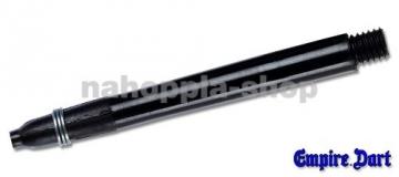 4 Sets Dart Schäfte Kunststoff lang 2BA, 5,0 cm(Schwarz) - 1