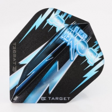 5 x Sets of Target Phil Taylor Vision Edge Standard blau Dart Flights - 1