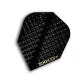 F6057 Black Dimplex Dart Flights 4 sets pro pack (12 flights insgesamt). - 1