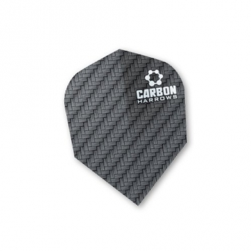 F7121 Carbon Black Std Dart Flights 3 sets pro pack (9 flights in total) - 1