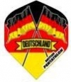15 Pentathlon Deutschland Dart Flights (5 Sätze) - 1