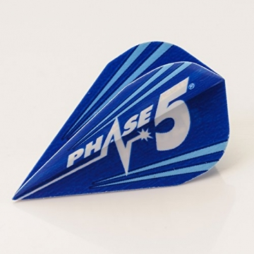 5 x Sets Unicorn Mirage blau Phase 5 DXM Dart Flights - 1