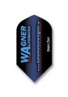 Dart-Flight-Set:Slim,Polyester extra strong von Wagner Automaten - 1