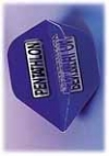 Flight-Set EMPIRE® Polyester Standard Mini Pentathlon Clear blau - 1