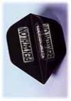 Flight-Set EMPIRE® Polyester Standard Mini Pentathlon Clear schwarz - 1