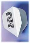 Flight-Set EMPIRE® Polyester Standard Mini Pentathlon weiß - 1