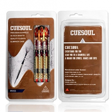 Cuesoul 16 Gramm Soft Tip Darts (STBS080) - 7