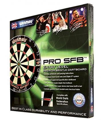 Winmau Pro SFB Steeldart Dartscheiben verpackung