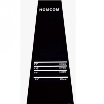 Homcom Gummimatte dartmatte