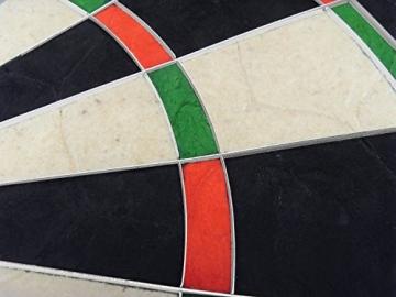 Kings Darts Turnier Dartscheibe nahaufnahme