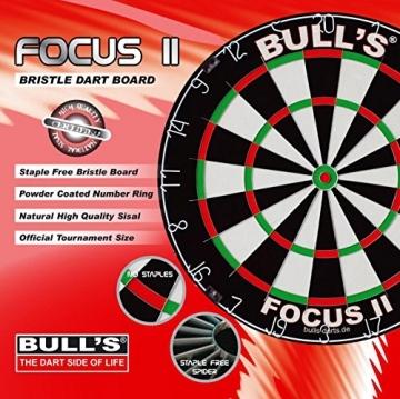 Bulls Dart Focus ii Dartscheibe verpakung