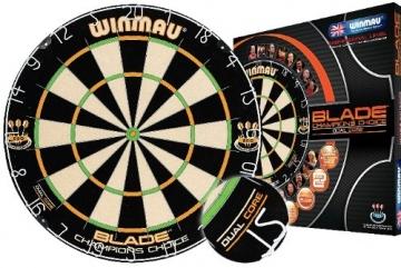 Winmau Original Blade Champions Choice Dartscheibe mit verpackung