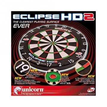 Unicorn Eclipse HD 2 Dartscheibe verpackung