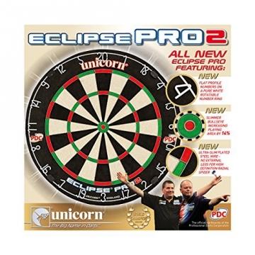 Unicorn Dartscheibe Eclipse Pro2 verpackung