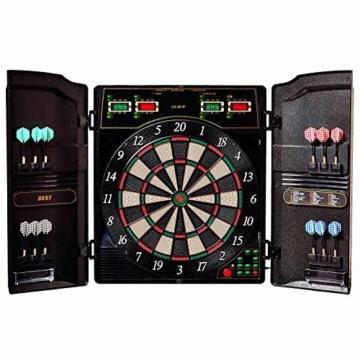 Best Sporting elektronische Dartscheibe Oxford Evolution Kabinett
