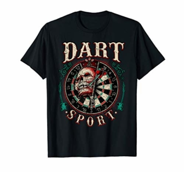 Dart T-Shirt - Dart Sport - Skull