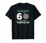 Dart T-Shirt - Ich bin nicht 60 Geburtstag Geschenk