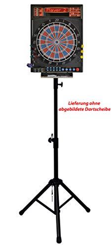 Dartona Mobiler Dartständer für Steel oder Elektronische Dartscheiben E Dart