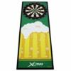 Dartteppich Bier gelb/grün 80 x 237 cm Tunier Dartmatte