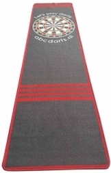 dartteppich xl size rot schwarz detail