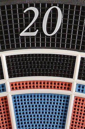 Elektronische Dartscheibe Dartona JX2000 Turnier Pro Detail 20