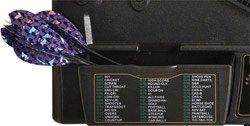 Elektronische Dartscheibe Dartona JX2000 Turnier Pro Dartpfeil halterung