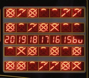 Elektronische Dartscheibe Dartona JX2000 Turnier Pro LED Display