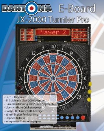 Elektronische Dartscheibe Dartona JX2000 Turnier Pro verpackung