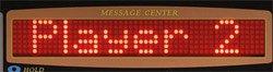 Elektronische Dartscheibe Dartona JX2000 Turnier Pro Display