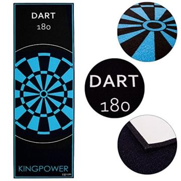 Kingpower Dartteppich Turnier Matte - Dart 180 detail
