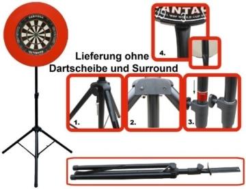 Mobiler Dartständer (ohne Scheibe und Surround)