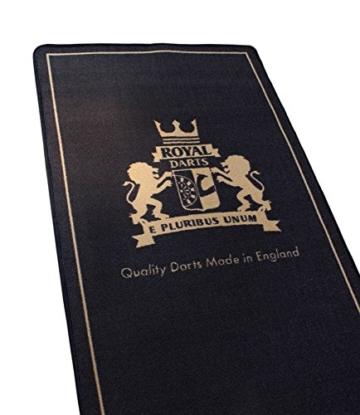 Royal Darts Oche Dartteppich - King detail