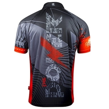 Target Coolplay Phil Taylor Dartshirt 2018 rücken