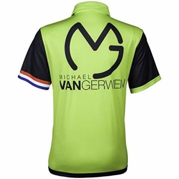 TW24 Poloshirt Michael Van Gerwen 2018 Dartshirt rücken