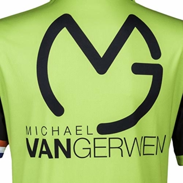 TW24 Poloshirt Michael Van Gerwen 2018 Dartshirt logo
