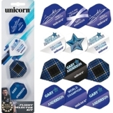 Unicorn Gary Anderson Darts Flight Selector Kit