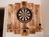 WDS Darts Sports Wooden Dartboard Surround - Premium Dart-Wandschutz