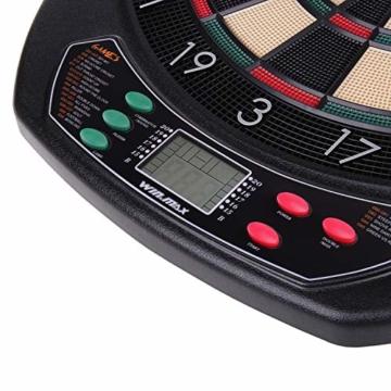 WIN.MAX Elektronische Dartscheibe - Dartboard detail 2